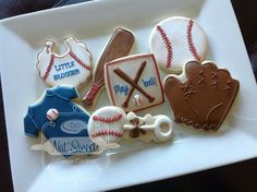 baseball cookies for baby