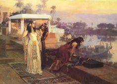 Cleopatra on the Terraces of Philae, by Frederick Arthur Bridgman.