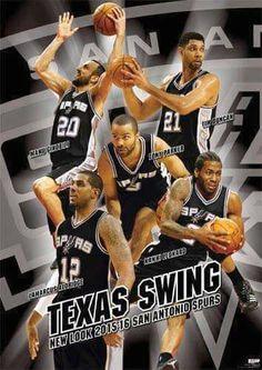 San Antonio Spurs Reloaded 2015. Go Spurs Go