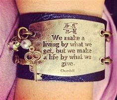 Lenny and Eva | Proceeds to World Vision Bracelet | Inspirational Leather Bracelets