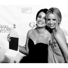 Dianna Agron and Lea Michele ❤ liked on Polyvore