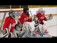 In the video of our NHL Hockey Skills goaltending series Kevin Weekes discusses the two key fundamentals of goaltending: Stance and positioning. Hockey Drills, Hockey Goalie, Hockey Mom, Hockey Stuff, Goalkeeper, Training Tips, Nhl, Strength, Baseball Cards