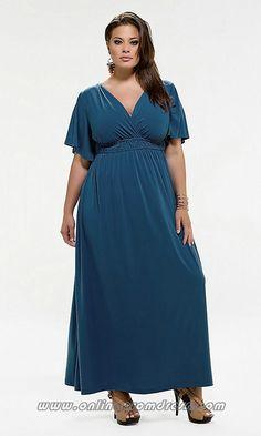 5aa3080506095 cutethickgirls.com blue plus size dresses (14)  plussizedresses Blue Plus  Size Dresses