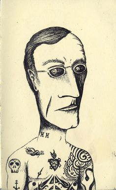 Hermann Hesse tattoo