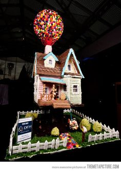 Up Gingerbread House… no way!!!!!!!!!!! Love love love it!!!!!!!!!!