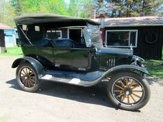 1922 Ford Touring Car