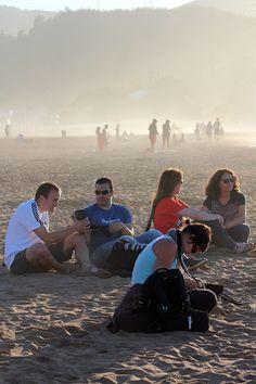 Curso de Fotografía en Muskiz, playa de la Arena,organizado por Artshow Collective. #artshowcollective #club #arte #bilbao