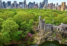 What to do in Central Park in NYC Spring: Belvedere Castle