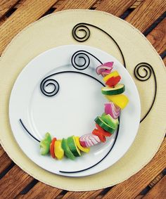 Take a look at this Curly Nonstick Kebob Skewer - Set of Four today!