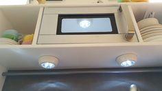 Selbstklebende LED Leuchten Ikea DUCKTIG Hack