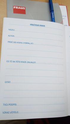 Tvořivé psaní: Prac. sešit - Přečtená kniha Homeschooling, Education, Reading, Literatura, Reading Books, Onderwijs, Learning, Homeschool