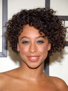 Stupendous 1000 Images About Classy Natural Curly Hairstyles On Pinterest Hairstyle Inspiration Daily Dogsangcom