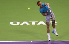 Qatar Open (Doha) 2015: Rafael Nadal beatenin first round [PHOTOS] | Rafael Nadal Fans