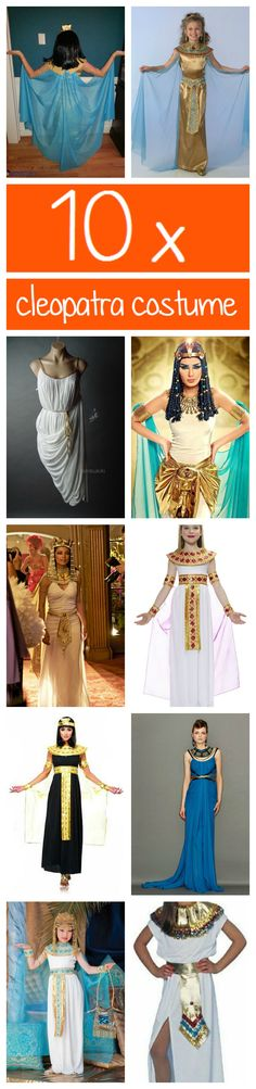 10x Cleopatra costume ideas. So Cool To Make One Myself!