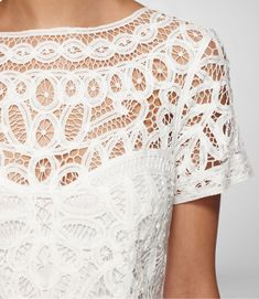 lovely white lace x