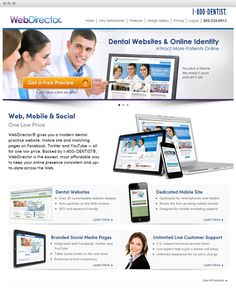 1-800-Dentist www.webdirector.com #eCommerce #B2B #1800Dentist #drupal