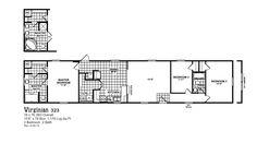 Oak Creek 323 Floorplan