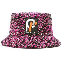 9f7c61afa43bf Shop Wool-blend bucket hat presented at one of the world s leading online  stores for luxury fashion.