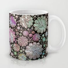 Sweet allover 3d floral Mug