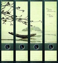 File Art 4 Design Ordner-Etiketten Silence...................................471