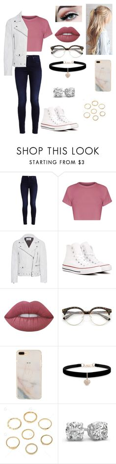"""""""Untitled #36"""" by chanita03 ❤ liked on Polyvore featuring Acne Studios, Converse, Lime Crime and Betsey Johnson"""