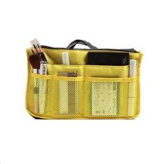 ซื้อเลย  Itsara กระเป๋าจัดระเบียบ (สีเหลือง)  ราคาเพียง  89 บาท  เท่านั้น คุณสมบัติ มีดังนี้ กระเป๋าจัดระเบียบ สำหรับใส่ในกระเป๋า ช่องเก็บของมากกว่า 10 ช่อง น้ำหนักเบา ทำความสะอาดง่าย Travel Accessories, Travel Essentials