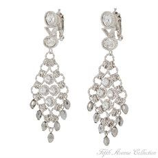 Rhodium Earring - Perfect Compliment - Canada - Fifth Avenue Collection - Jewellery that changes the way you see fashion