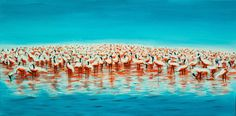 View Flamingos by Danijela Dan. Browse more art for sale at great prices. New art added daily. Buy original art direct from international artists. Shop now