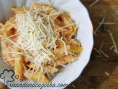 Brisando na Cozinha: Mac'n'cheese (de uma panela só) com queijo reino - ultra fácil!