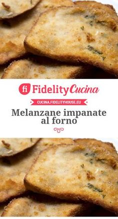 Melanzane impanate al forno No Salt Recipes, Sugar Free Recipes, Veggie Recipes, Great Recipes, Vegetarian Recipes, Italian Snacks, Italian Recipes, Cooking Chef, Cooking Recipes