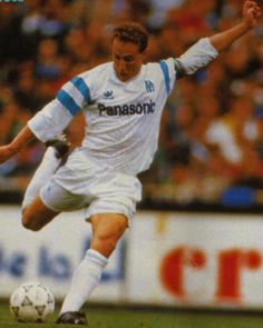 Jean-Pierre Papin. Former french footballplayer. European Footballer of the Year in 1991. Played as a striker mainly for Olympique Marseille, but also played for AC Milan, FC Bayern Munich and Bordeaux and the national French footballteam.