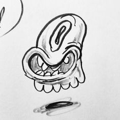Boo! Did i scare you?  #drawstuff #doodles #etsy #inkdrawing #ghost #ghostyfwendz July 02 2016 at 11:24AM