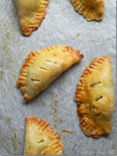 sweet potato and black bean empanadas #vegetarian