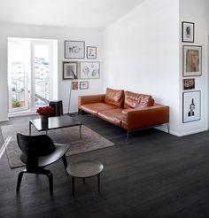 HappyModern.RU | Кожаные диваны (45 фото): презентабельно, престижно, комфортно | http://happymodern.ru