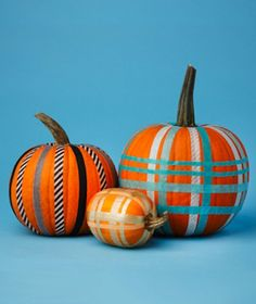 Nifty pumpkin ideas, many of them are knife free and kid friendly.