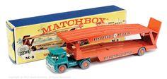 Matchbox Major Pack No.M8 Guy Car Transporter.