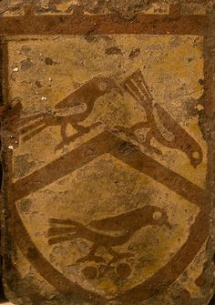 Medieval tile, Bath Abbey