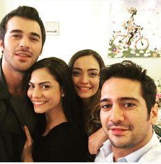 Burak, Asli, Gonca & Erdem Turkish Actors, Tatoos, Drama, Handsome, Celebs, Actresses, Couple Photos, Movies, Strawberry Fruit