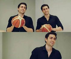 The Basketball Game!! Caglar Ertugrul as Yagiz Egemen in the Turkish TV series FAZILET HANIM VE KIZLARI, 2017-2018.