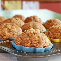 table for seven: Banana Cinnamon Muffins