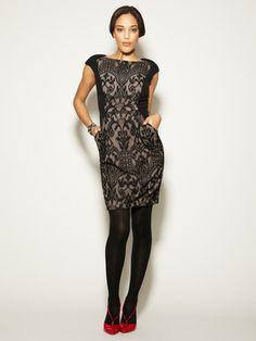 Classy pocket dress!