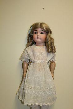 Beautiful Antique Kestner #192 Bisque Head Doll