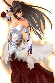 anime girl warior   Anime Girl Warrior Image