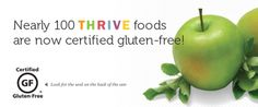 Eat Healthy Certified Gluten-Free Foods that have a long shelf life!