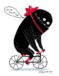 Monstre à vélo | Elise Gravel