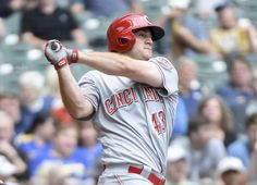 Power Rankings:      25. Cincinnati Reds (11-13)  -    Last Week: 20  -    One Nice Thing: Scott Schebler ﴾who?﴿ has four homers and three doubles in his last 19 at‐bats, posting a slick 1.263 slugging percentage  over the last week.  -  MLB Power Rankings: A new team at the top, a new team at the bottom  -  May 1, 2017