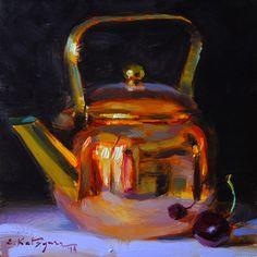 Paintings by Elena Katsyura: Copper and Cherry