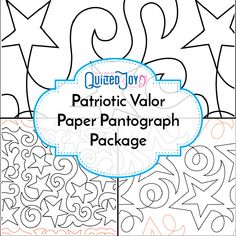 """Calling Quilts of Valor Quilters! This panto pack has all our star designs, perfect for the quilts headed for veterans. We've included Swirly Stars 13.5"""", Shooting Stars 10.5"""", and Star Dance 8.5"""". Beginner Quilt Patterns, Quilting For Beginners, Quilting Tutorials, Sewing Patterns, Quilting Stencils, Longarm Quilting, Machine Quilting, Star Quilts, Quilt Blocks"""