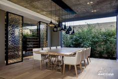 bambusgarten terrasse moderne wohnung design in cape town