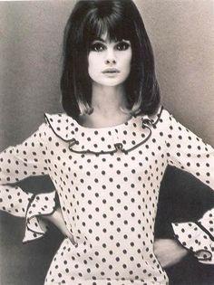 Jean Shrimpton by John French, 1964